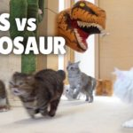 Chats contre dinosaure   Kittisaurus