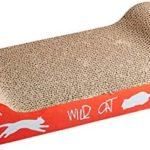 Trixie Arbre à chat sauvage en carton, 41x 24x 7cm( Couleur Aléatoires )