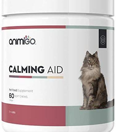Animigo Calmant Anti Stress pour Chat et Chaton -