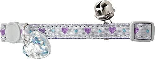 HUNTER Purple Heart Collier pour Chat
