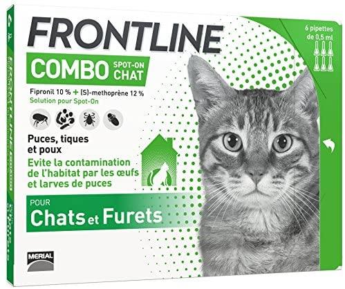FRONTLINE Combo Chat - Anti-puces et anti-tiques