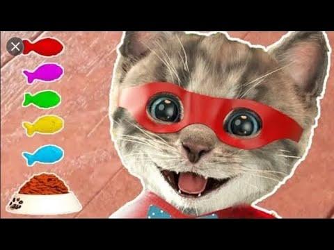 Jouer au jeu Little Kitten My Favorite Cat Pet Care - Mini jeux d'animation pour enfants